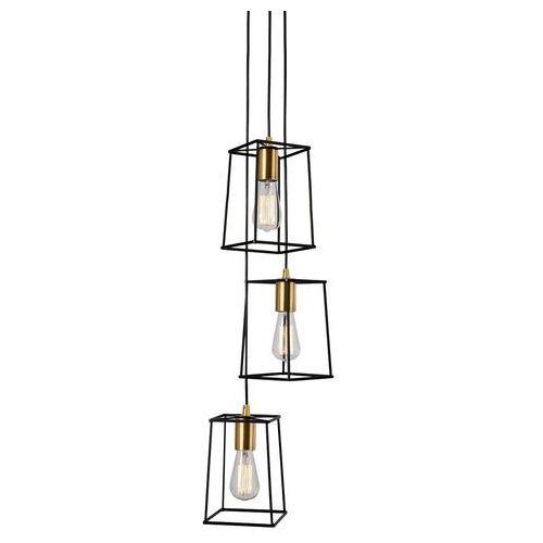 Alanis lampa wisząca 3-punktowa MD-BR16556-D3-B/G