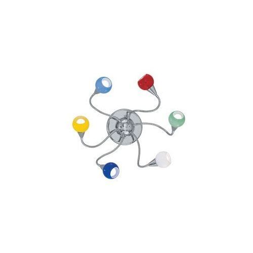 lampa sufitowa TENDER PL6 color, IDEAL-LUX 06550