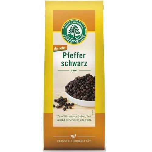 Pieprz czarny ziarnisty bio 50 g - lebensbaum marki Lebensbaum (przyprawy, herbaty, kawy)