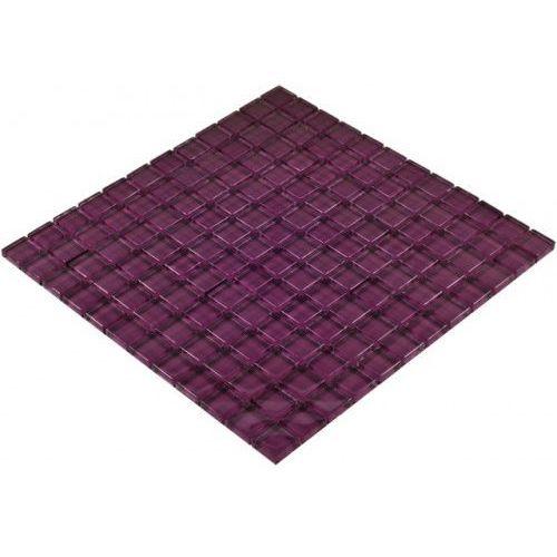 Goccia color line mozaika szklana fioletowa, 30x30 cm cls1606 marki Goccia mosaico