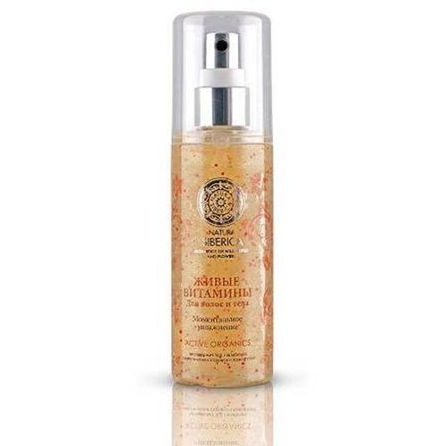 Spray do włosów i ciała żywe witaminy - marki Natura siberica