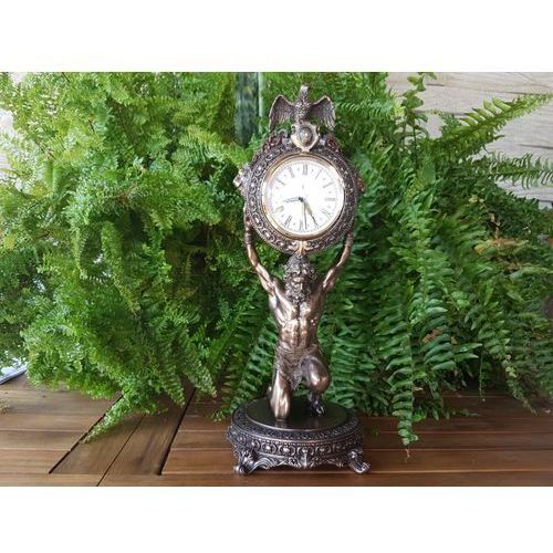Okazały barokowy zegar atlas - (wu75467a4) marki Veronese