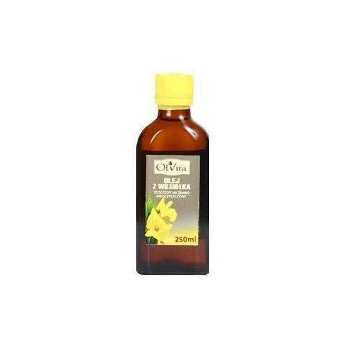Olej z wiesiołka tłoczony na zimno nieoczyszczony 250 ml  marki Olvita