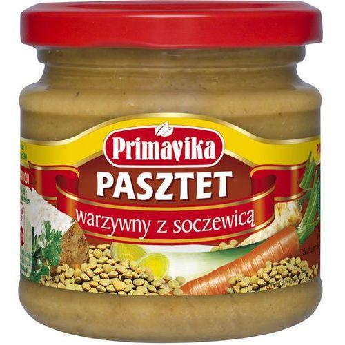 Pasztet warzywny z soczewicą bio 170g - marki Primavika