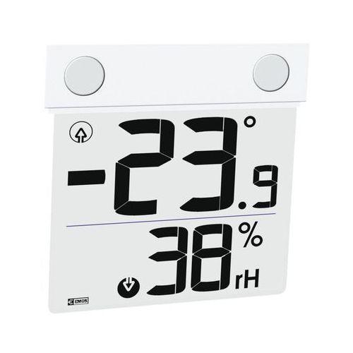 Emos Termometr z higrometrem okienny e1278 (8595025374318)