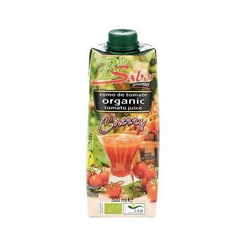 Sok z pomidorów cherry bio 500 ml - biosabor marki Biosabor (przetwory na bazie pomidorów)