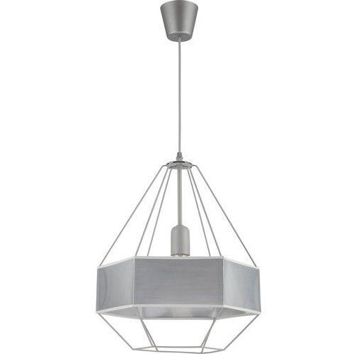 Tk lighting Żyrandol na drutu cristal new 1xe27/60w/230v szary (5901780515287)