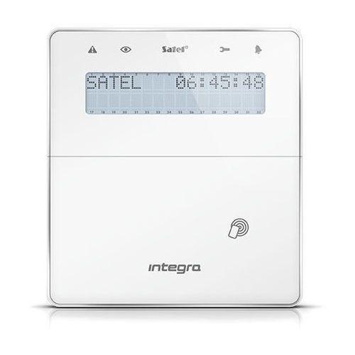 Satel Int-kwrl-wsw bezprzewodowy manipulator lcd z czytnikiem zbliżeniowym, biały