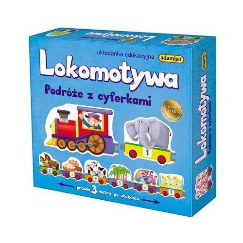 Adamigo Lokomotywa - podróże z cyferkami -