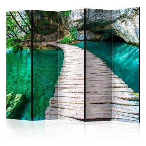 Artgeist Parawan 5-częściowy - park narodowy, jeziora plitwickie, chorwacja [room dividers]