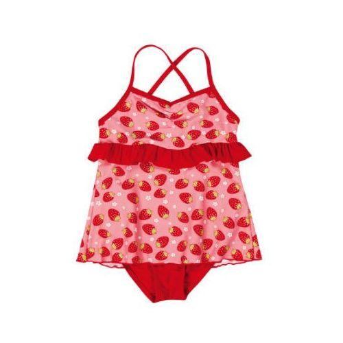 PLAYSHOES Girls Strój kąpielowy Truskawka kolor czerwony (4010952385076)
