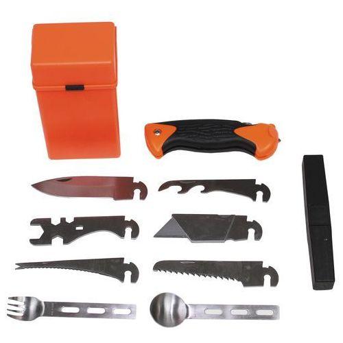 Niezbędnik MFH 27-częściowy survivalowy w pudełku