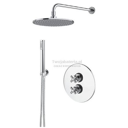 MZ Edos kompletny zestaw prysznicowy termostatyczny deszczownica słuchawka EDS20TERMO