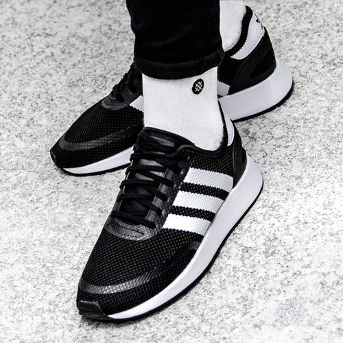 Buty originals n-5923 iniki runner j d96692 - czarny marki Adidas