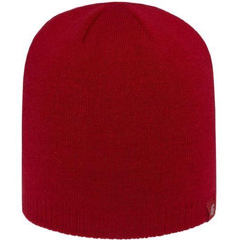 4f Męska czapka h4z18 cam001 62s czerwony s/m
