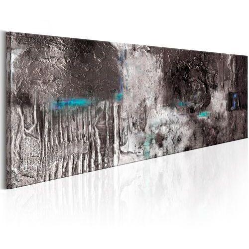 Artgeist Obraz malowany - srebrna machina