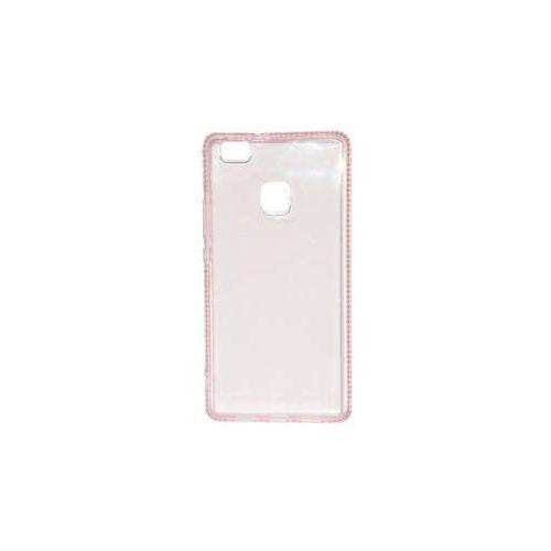 Obudowa dla telefonów komórkowych Beeyo Diamond Frame pro Huawei P9 Lite (BEAHUP9LTPUFRPI) Różowy, kolor różowy