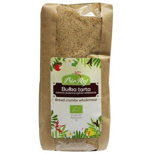 Bio raj (konfekcjonowane) Bułka tarta razowa pszenno-żytnio-orkiszowa bio 500 g bio raj