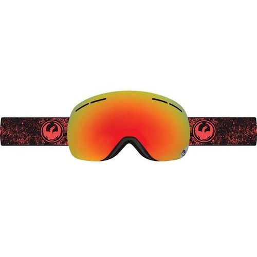 gogle snowboardowe DRAGON - X1s - Energy Scarlet/Red Ion + Yellow Blue Ion (446)