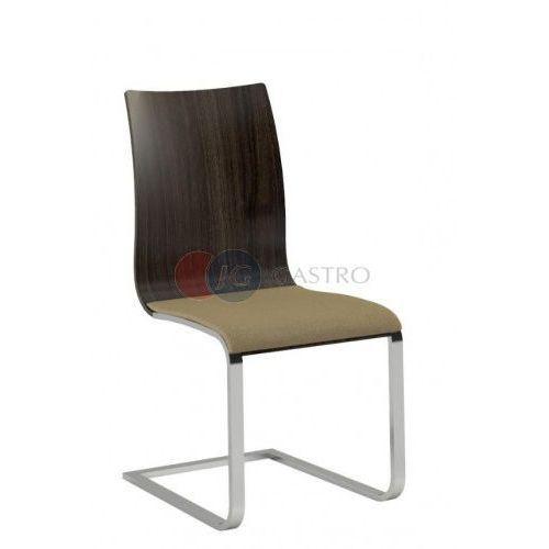Krzesło bez podłokietnika Dąb stelaż szczotkowany Paged A-SIENA 2s, A-SIENA 2s
