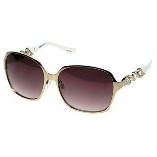 Okulary Słoneczne Moschino MO 590/STRASS 02, kolor żółty