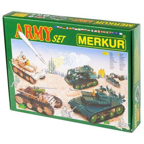 Merkur Modele RC Kit, Armia zestaw 657 szt