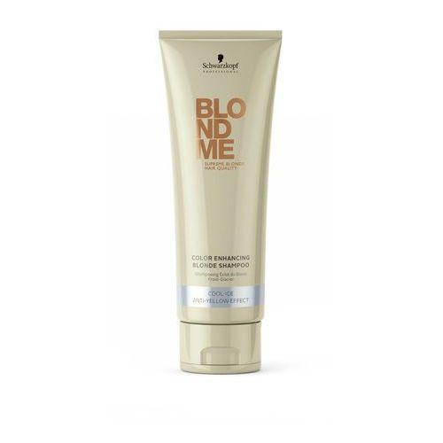 Schwarzkopf Professional Blondme szampon wzmacniający do zimnych odcieni blond (Color Enhancing Blonde Shampoo Cool-Ice Anti-Yellow Effect) 250 ml (4045787243833)