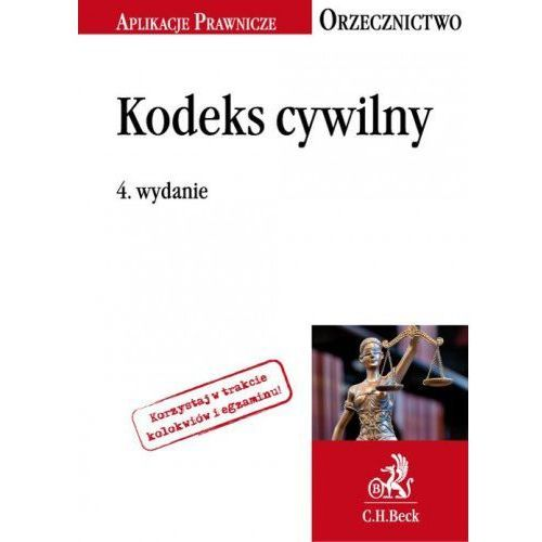 Kodeks cywilny Orzecznictwo Aplikanta (9788325587352)
