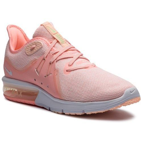 Buty - air max sequent 3 908993 603 pink tint/white/crimson tint marki Nike