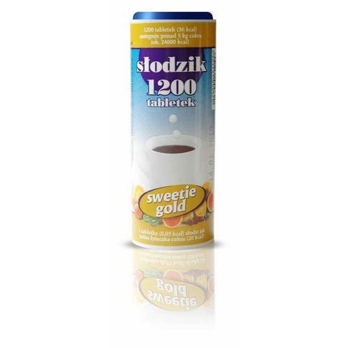 Słodzik 1200 tabletek sweetie gold marki Domos