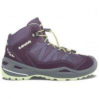 Nowe dziecięce buty robin gtx mid blackberry/mint rozmiar 31/19,5cm marki Lowa