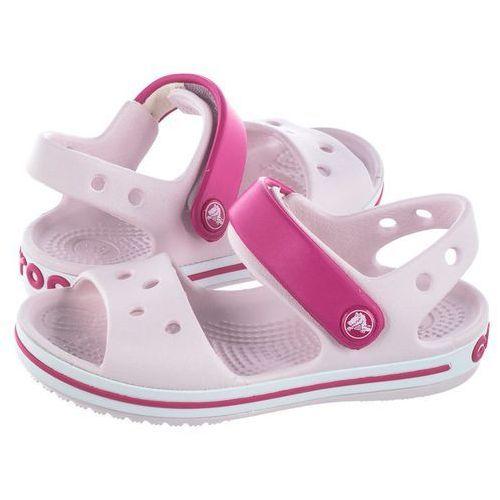 Crocs Sandałki crocband sandal kids barely pink/candy pink 12856-6pv (cr39-m)