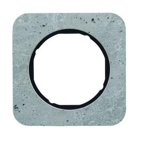 Ramka 1-krotna berker r.1 beton/czarny marki Hager - berker