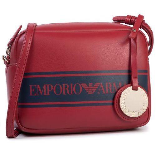 Torebka EMPORIO ARMANI - Y3B092 YFG7A 83920 Ruby Red/Navy Blue, kolor czerwony