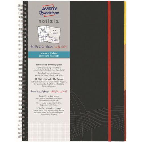 Kołozeszyt Avery Zweckform Notizio Standard 7015 A5/80k. kratka (4004182470152)