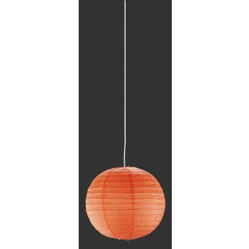 Trio paper 3490400-18 lampa wisząca zwis 1x60w e27 pomarańczowy (4017807081527)