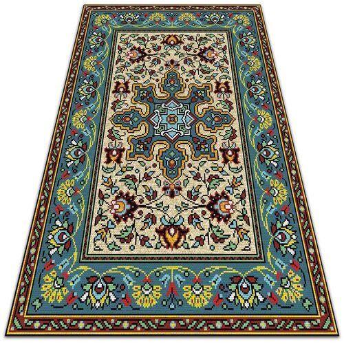 Dywanomat.pl Piękny dywan ogrodowy piękny dywan ogrodowy kolorowe wzory geometryczne