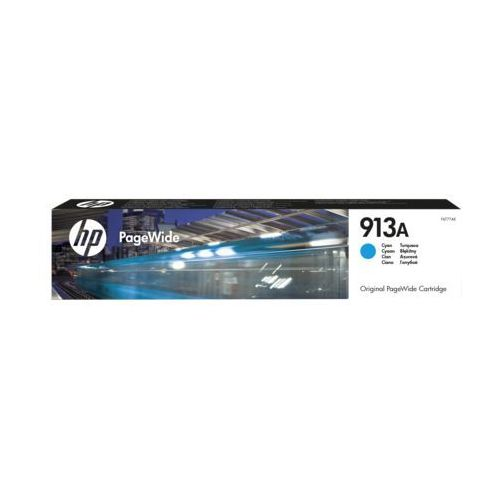 HP 913A cyan original PageWide cartridge (0889296544623)