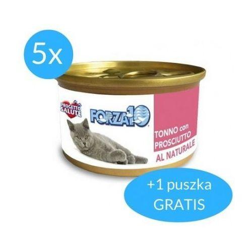 maintenance dla kota 5x75g + 75g gratis (450g): smak - tuńczyk z szynką dostawa 24h gratis od 99zł marki Forza10