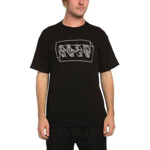 koszulka KREW - Perspect Regular Tee Black (008) rozmiar: XL, kolor czarny