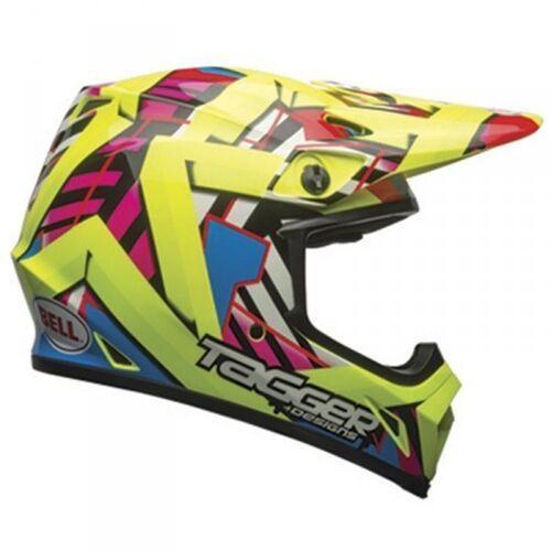 Bell mx-9 mips double trouble hi viz yellow kask motokross marki Bell_sale