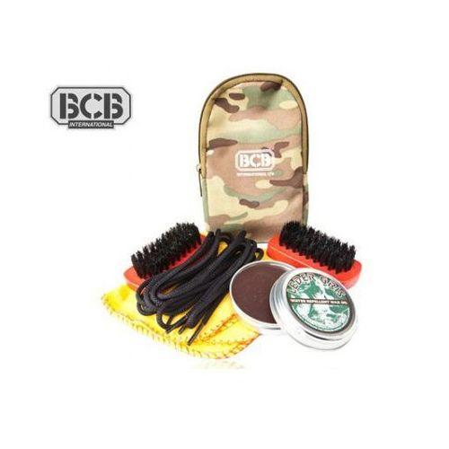 Zestaw do czyszczenia butów  brown boot shine kit marki Bcb