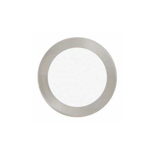 Plafon fueva 1 31672 lampa oprawa wpuszczana downlight oczko 1x10,9w led nikiel mat / biały okr. marki Eglo