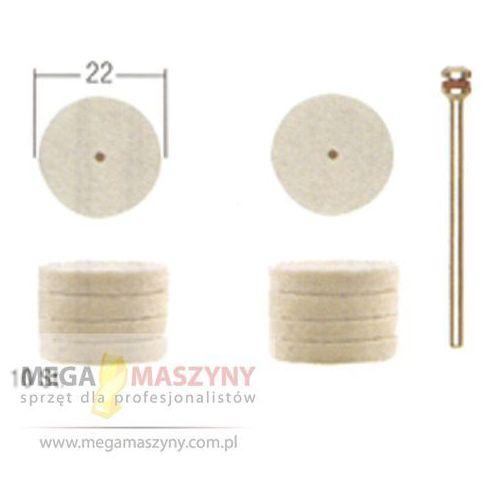PROXXON N Trzpień szlifierski filcowy 10 szt. PR 28798 ()