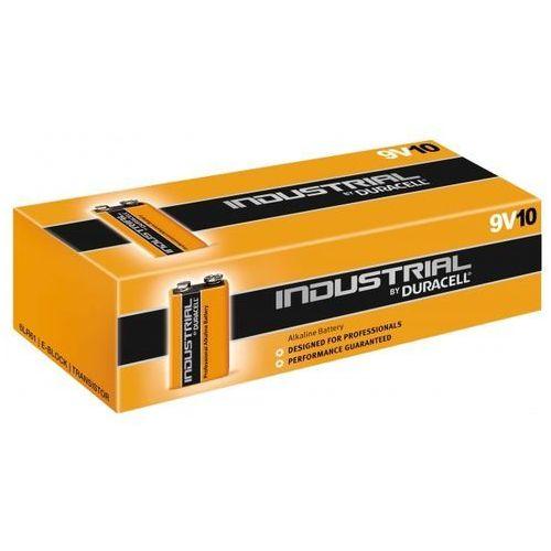 10 x bateria alkaliczna Duracell lndustrial 6LR61 9V