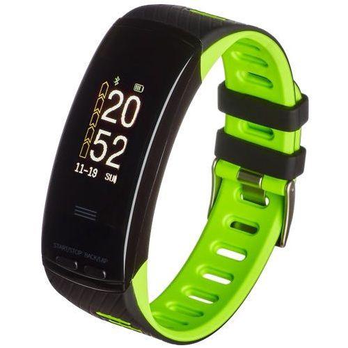 Garett Smartband fit 23 gps czarno-zielony + zamów z dostawą jutro! + darmowy transport!