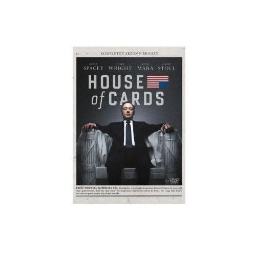 House of cards. sezon 1 (4xdvd) (dvd) - david fincher, beau willimon darmowa dostawa kiosk ruchu marki Imperial cinepix