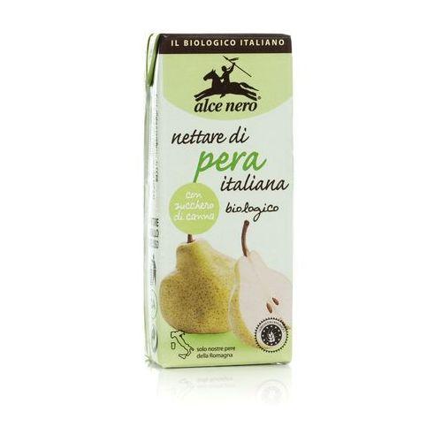 Alce nero (włoskie produkty) Nektar gruszkowy bio 200 ml - alce nero