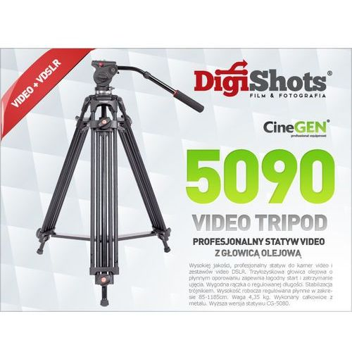 CG-5090 Statyw do kamer video