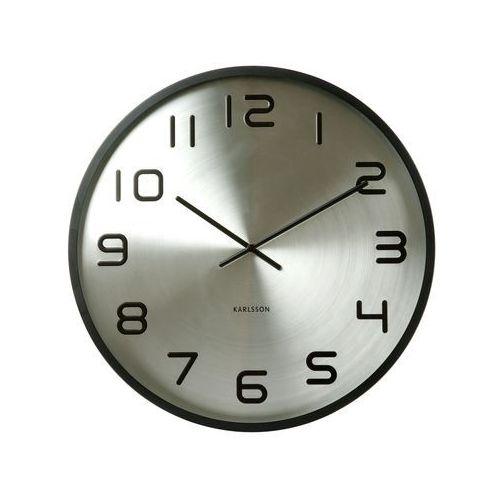 Zegar ścienny Maxiemus Numbers silver by Karlsson, KA5321